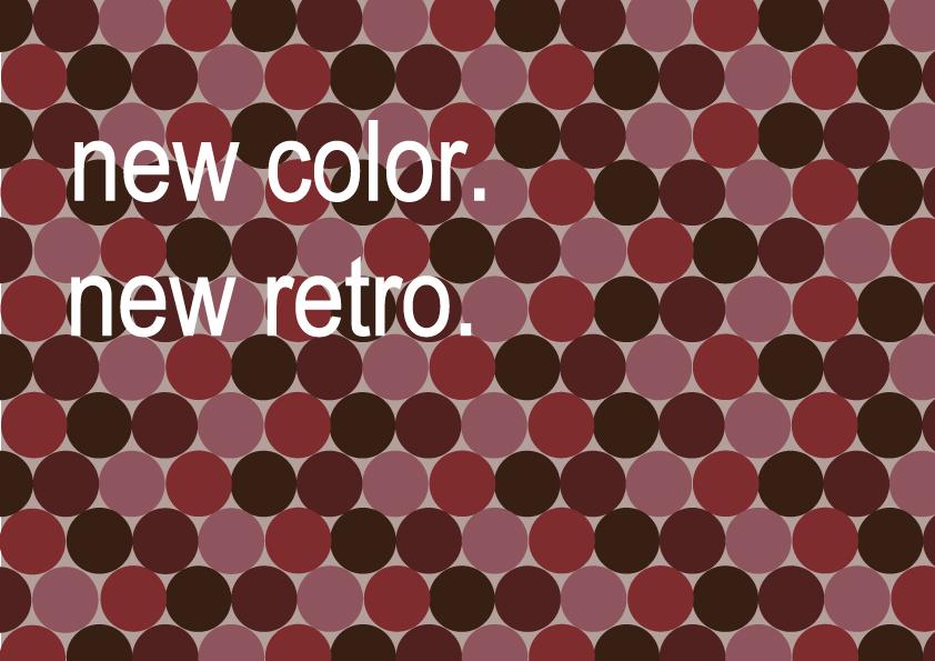 new color, new retro